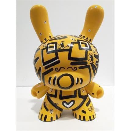Ralau Dunny Robot Yellow 12 x 8 x 18 cm
