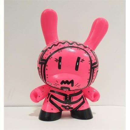 Ralau Dunny Robot Pink 12 x 8 x 18 cm