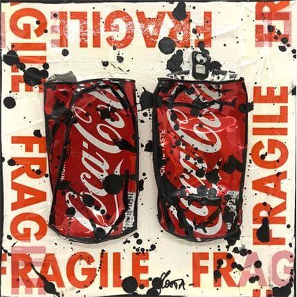Sophie Costa Fragile coke 25 x 25 cm