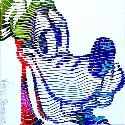 Virginie Schroeder Goofy 13 x 13 cm