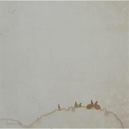 Lamiel Boubli Sur la dune 3 19 x 19 cm