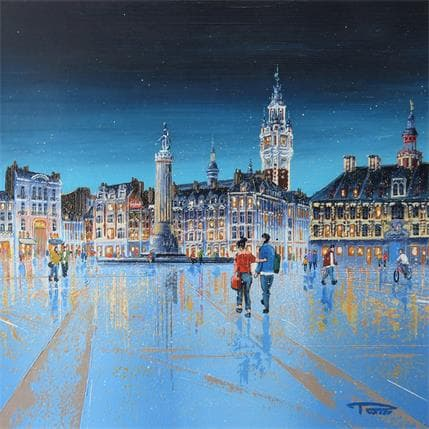 Rosso La Grand Place 25 x 25 cm