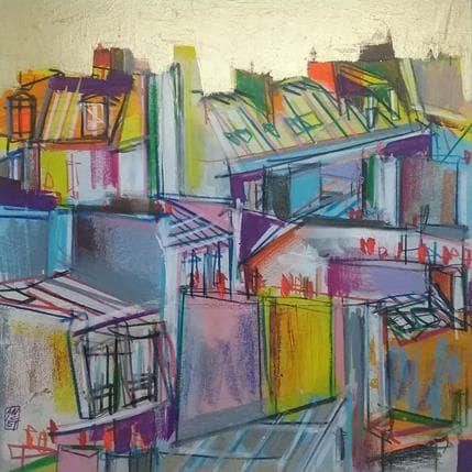 Olivier Anicet Enchevêtrement des façades 25 x 25 cm