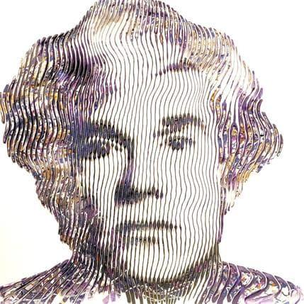 Schroeder Virginie Andy Wahrol 80 x 80 cm
