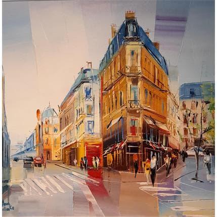 Salenko Anna Architecture parisienne 36 x 36 cm
