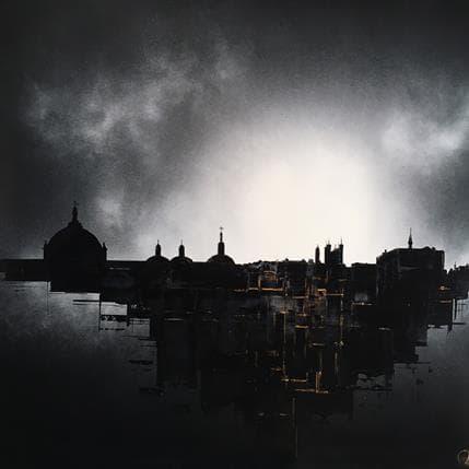 Julien Rey Promenade Nocturne 80 x 80 cm