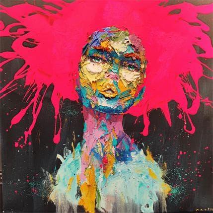 Agusil Marc Blue Skin Lady 70 x 70 cm
