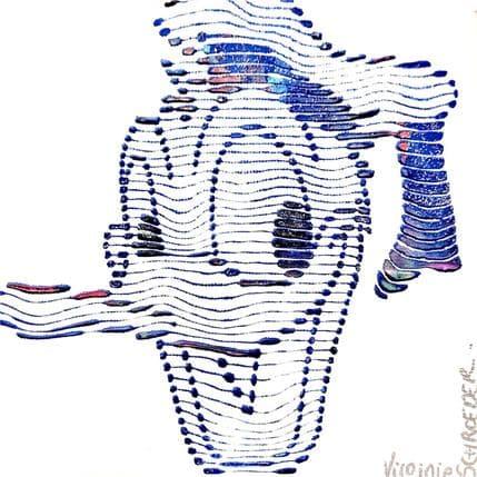 Virginie Schroeder Donald Duck 13 x 13 cm