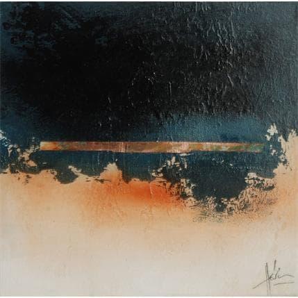 Christian Hévin Abstraction #6213 19 x 19 cm