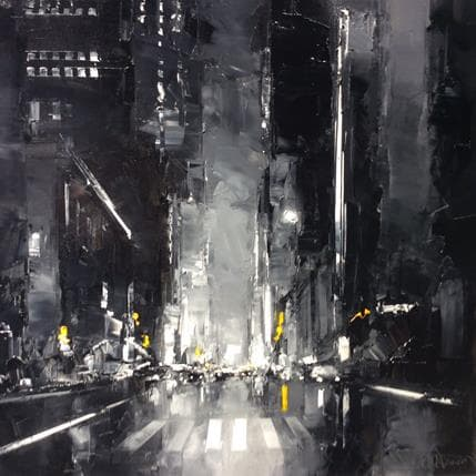 Daniel Castan Blanck and White New York 80 x 80 cm