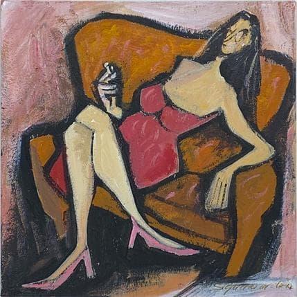 Bernard Signamarcheix Sans titre 13 x 13 cm