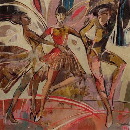 Baubeau de Secondigné Marcela Hommage à la musique 36 x 36 cm