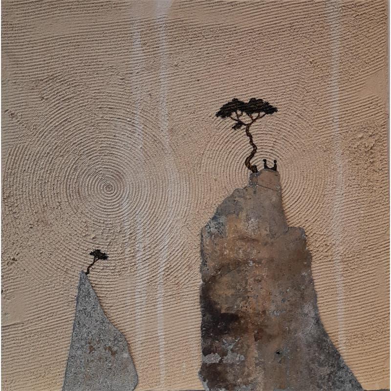 Peintures petit format Abstrait Art Singulier Technique mixte</h2>
