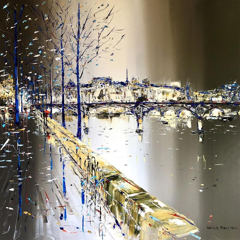 Et la Seine qui se promène
