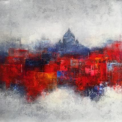 Steffi Coupette In the art of Rome 80 x 80 cm