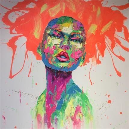 Agusil Marc Orange hair 120 x 120 cm