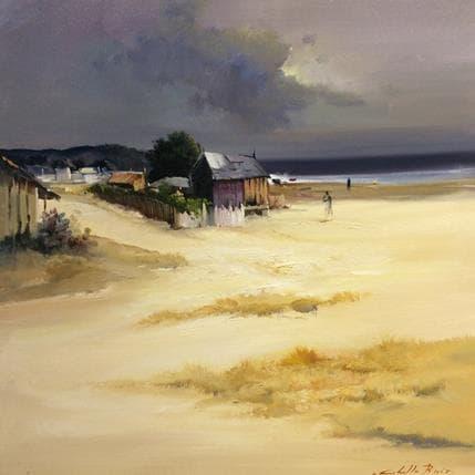 Jose Cabello Ruiz Playas de Galicia 50 x 50 cm
