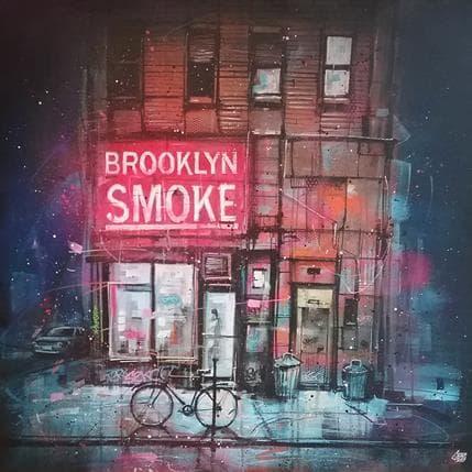 Graffmatt Brooklyn smoke 100 x 100 cm
