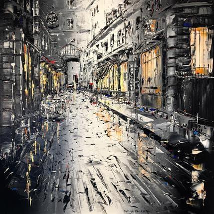 Patrick Rousseau Rien que nous et Paris 100 x 100 cm