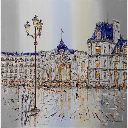 Rousseau Patrick Marcher sur un miroir 80 x 80 cm