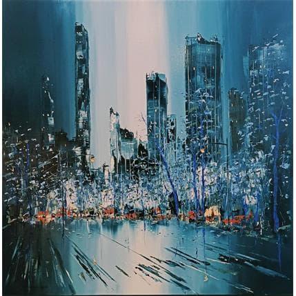 Rousseau Patrick Automn in NY 100 x 100 cm