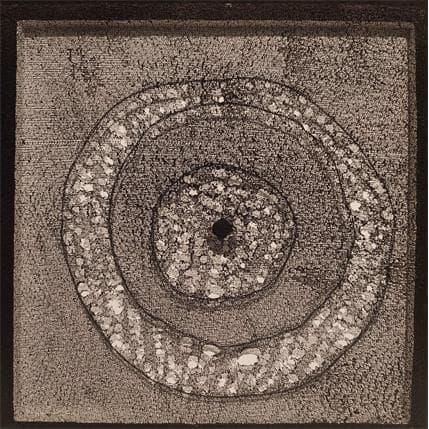Yasmina Ziyat Sans titre 1 19 x 19 cm