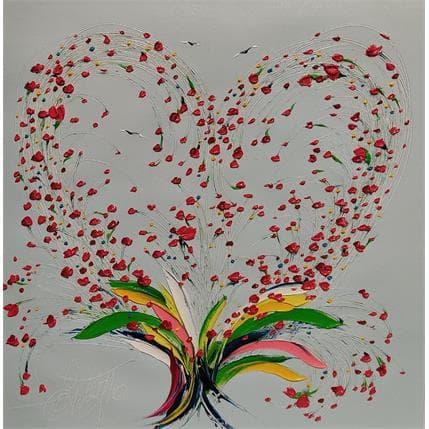 Fonteyne David L'espoir sur ton coeur 36 x 36 cm