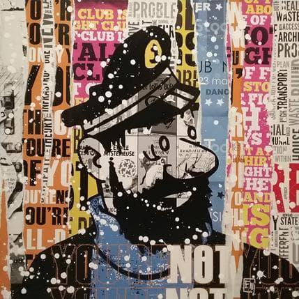 Franck Lamboley Marin d'eau douce 80 x 80 cm