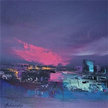 Beata Belanszky Nightimes city 25 x 25 cm