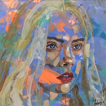 Nathalie Cubero Cara 19 x 19 cm