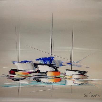 Eric Munsch Voiles aux vents 100 x 100 cm