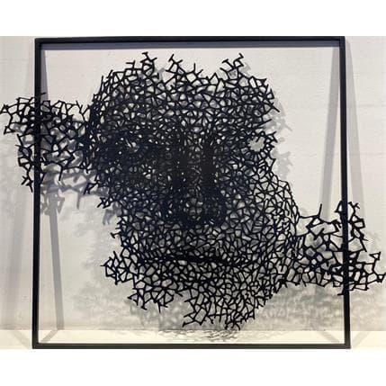 Nikola Vudrag sans titre 80 x 80 cm