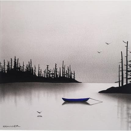 Natasha Miller About the blue boat 25 x 25 cm