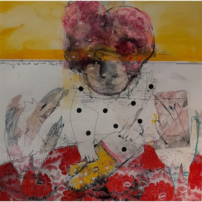 Peintures art singulier Art Singulier Technique mixte</h2>