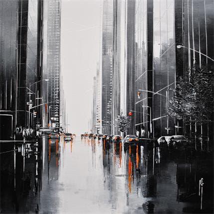 Maurizio Galloro Circulation urbaine 25 x 25 cm