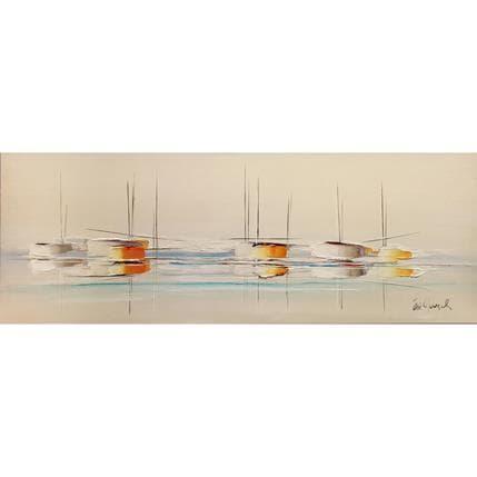 Eric Munsch Voyage 120 x 40 cm