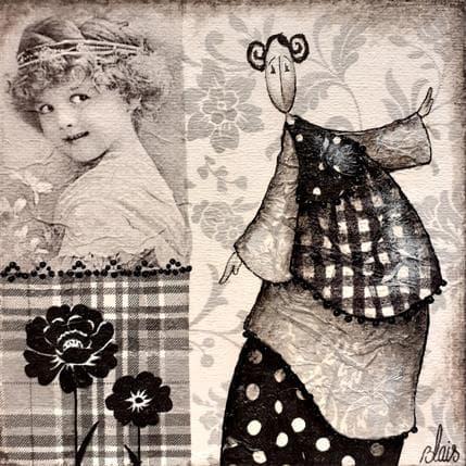 Delphine Blais Blanche 13 x 13 cm