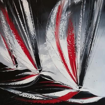 David Fonteyne Love boats 80 x 80 cm