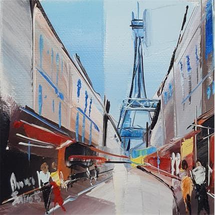 Anna Salenko Vers la tour Eiffel 13 x 13 cm