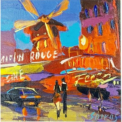 Dmitry Spiros Moulin Rouge 13 x 13 cm