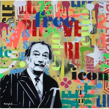 Philippe Euger Free spirit 36 x 36 cm