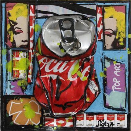 Sophie Costa Graphic coke 13 x 13 cm