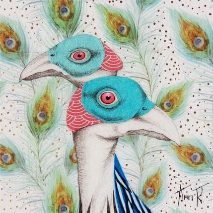 Ann R LES PINTADES 13 x 13 cm