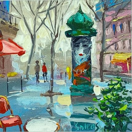 Dmitry Spiros City sketch 13 x 13 cm