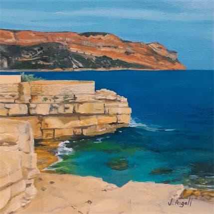 Julie Argall Les roches plates 13 x 13 cm