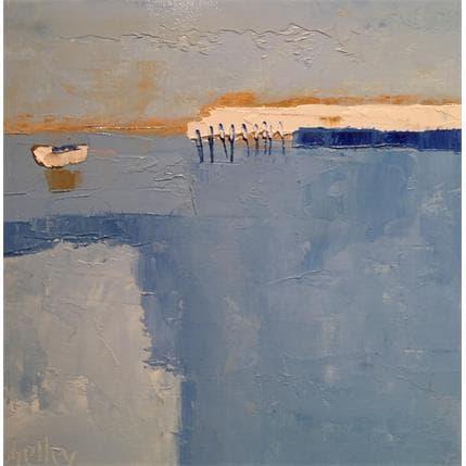 Shelley Océan 25 x 25 cm