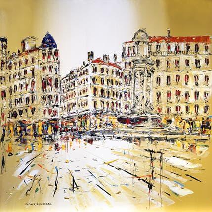 Patrick Rousseau Les jacobins de bon matin 100 x 100 cm