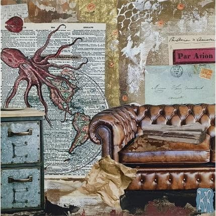 Karine Romanelli Octopussy 19 x 19 cm