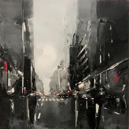 Daniel Castan Sans titre 80 x 80 cm
