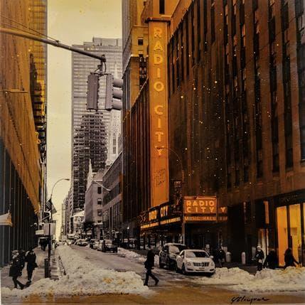 Yohann Gloaguen RADIO CITY 25 x 25 cm